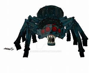 MineCraft Cave Spider by SARKiSiAN on DeviantArt