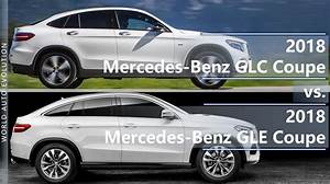 Mercedes Glc Coupe 2018 : mercedes glc coupe vs gle coupe 2018 how different are they ~ Medecine-chirurgie-esthetiques.com Avis de Voitures