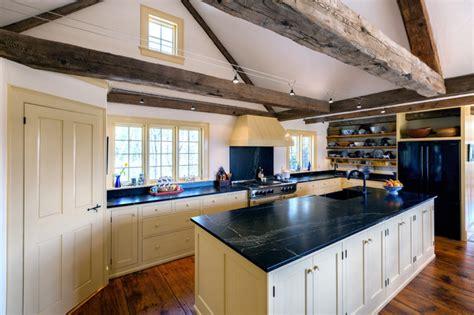 Maine Seacoast Country Kitchen  Farmhouse Kitchen