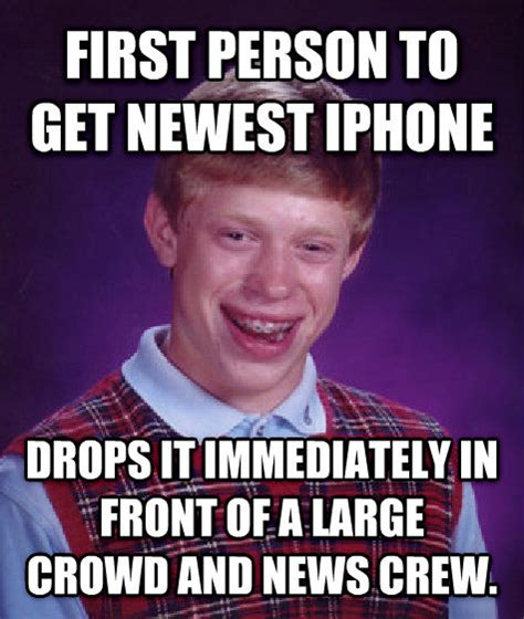 Bad News Brian Meme - livememe com bad luck brian