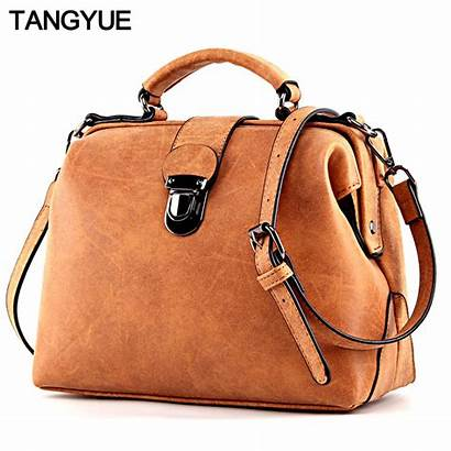 Bag Ladies Handbags Leather Female Hand Shoulder