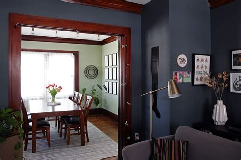 big bold 2017 paint trends point to high contrast
