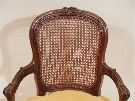 Antique French Provincial Walnut Child's Armchair, Circa