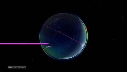 Ionosphere Earth Space Atmosphere Icon Nasa Explorer