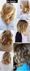 Coiffure Simple Femme : 15 jolis styles de cheveux mi longs coiffure simple et facile ~ Melissatoandfro.com Idées de Décoration
