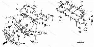 Honda Atv 2007 Oem Parts Diagram For Carrier