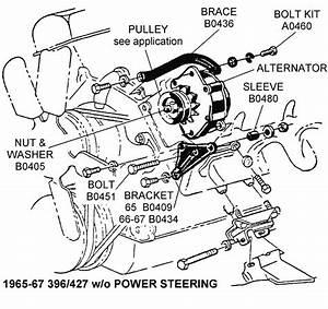 1966-67 396  427 W  O Power Steering