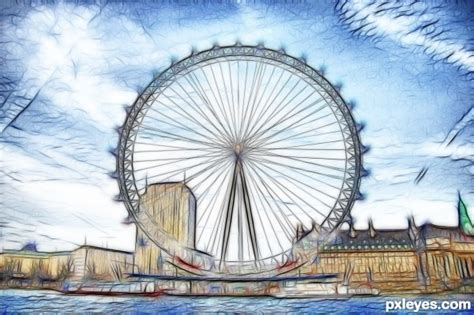 london eye clipart clipground
