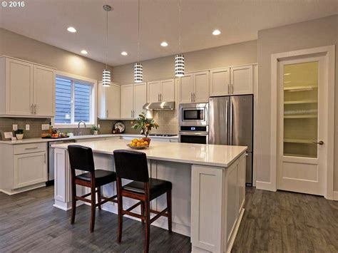 shaped kitchen island home design