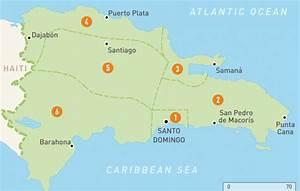 Map of the Dominican Republic | Dominican Republic Regions ...
