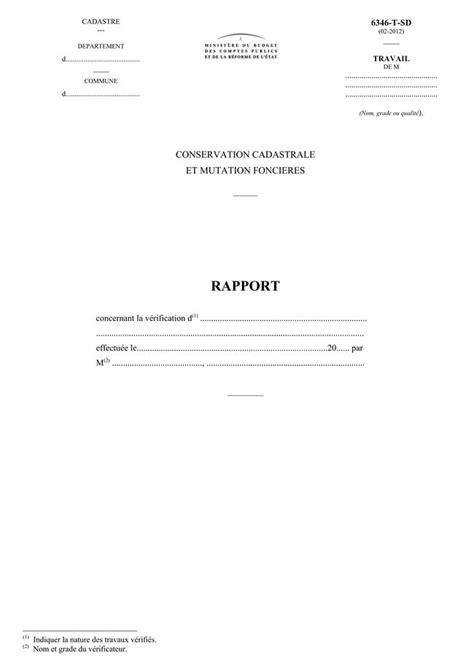 modele de lettre rattachement au foyer fiscal annexe cad conservation cadastrale et mutation fonci 232 res
