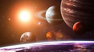 Solar System Planets Space Art 4K Wallpapers