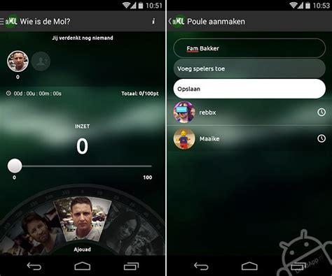 ähnliche App Wie by Wie Is De Mol App Krijgt Update Voor Seizoen 2015