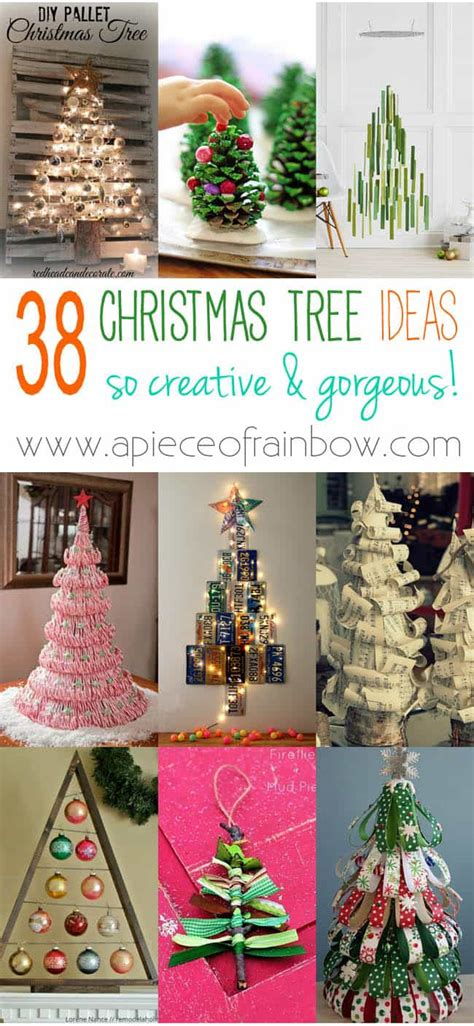 38 Amazing Christmas Tree Ideas  A Piece Of Rainbow