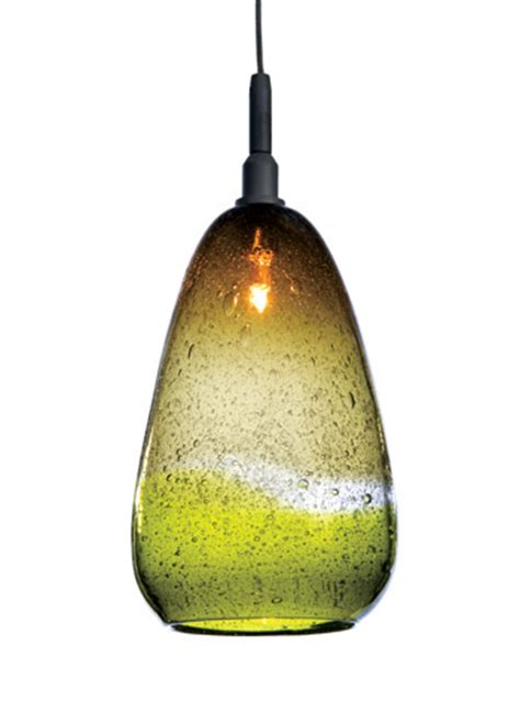 blown glass artist tracy s monopoint pendant