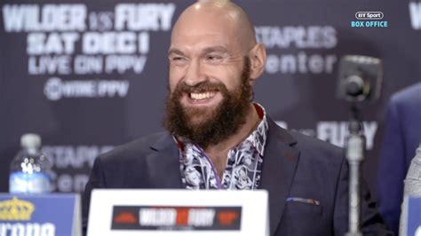 Deontay Wilder v Tyson Fury final press conference best ...