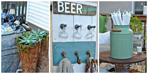 We love to do that. How to DIY a Backyard Beer Garden Party for Oktoberfest - Outdoor Party Ideas