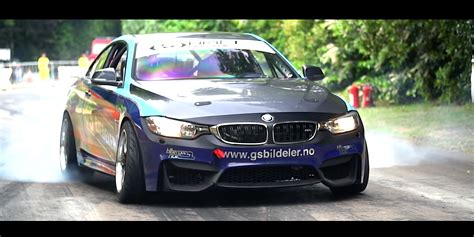 first bmw watch world 39 s first bmw m4 drift car damnedwerk