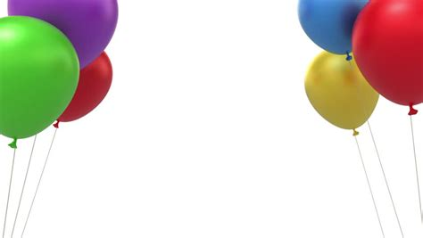 stock video  balloons background loop   animation