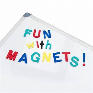108 lowercase magnetic foam letters punctuation black With lowercase letter magnets