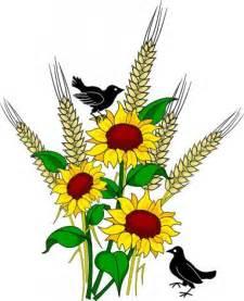 Fall Sunflowers Clip Art Free