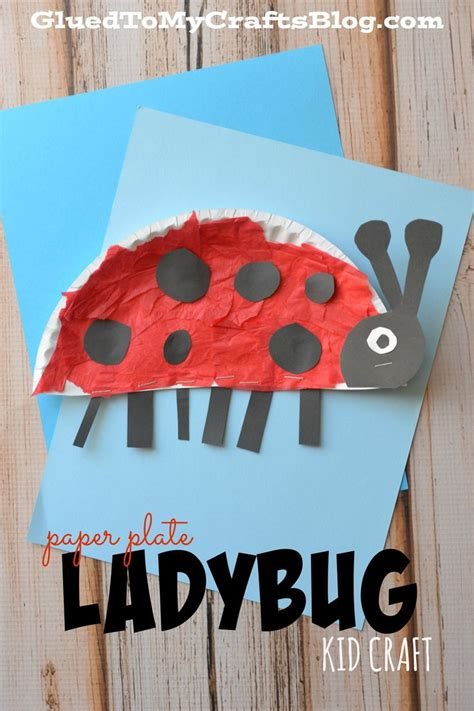 best 20 ladybug crafts ideas on bug crafts 515 | cdcd790d72ecc054226be7223f9a5b6f insect crafts plate crafts