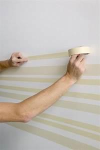 Wand Mit Streifen : streifen mit malerband an der wand streichen malern pinterest w nde streichen streifen ~ Indierocktalk.com Haus und Dekorationen