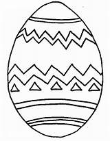 Easter Egg Coloring Pages Printable sketch template