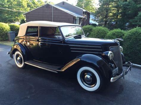 1936 Ford 4 Door Convertible Sedan Rare Look