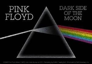 Pink Floyd The Dark Side of The Moon Glitter Sticker