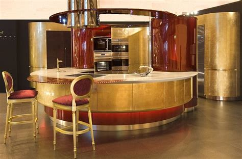 Yours For £300,000! The Gold Leaf Kitchen That Costs More