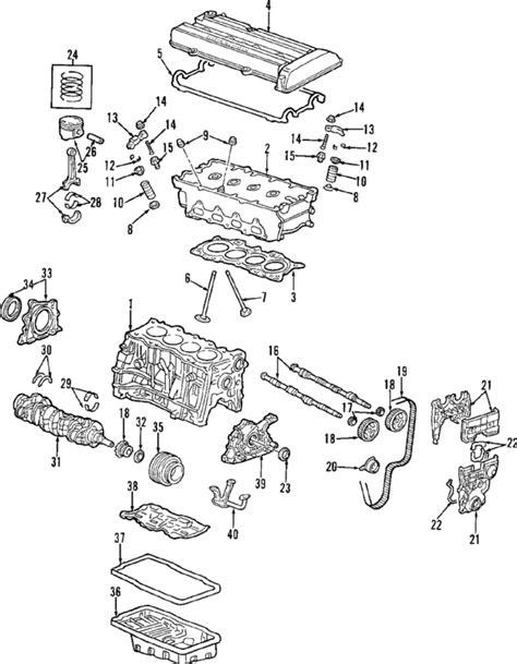 Honda Cr V Engine Diagram by Parts 174 Honda Engine Cylinder Valves Intake
