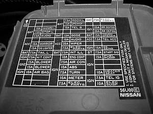 96 Nissan Maxima Fuse Box Diagram