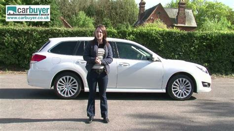 subaru legacy estate review carbuyer youtube