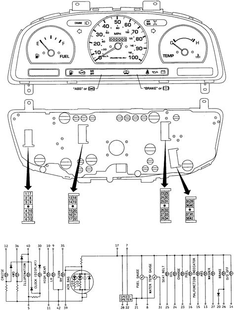 where can i find an instrument cluster wiring diagram for
