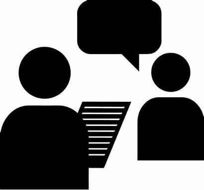 Interview Clipart Research Exit Transparent Led Recruitment
