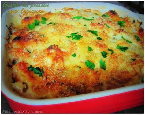 brick cuisine gratin de poisson aux legumes le cuisine de samar