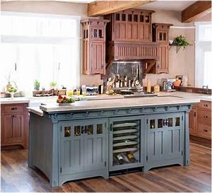 10 most unique kitchen cabinet styles even some youve for Unique kitchen cupboards