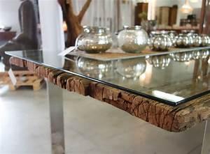 Holztisch Mit Glas : glasplatte auf holztisch com forafrica ~ Frokenaadalensverden.com Haus und Dekorationen