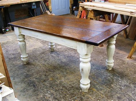 farm style kitchen table for sale farmers tables for kitchen custom oak wood farmhouse