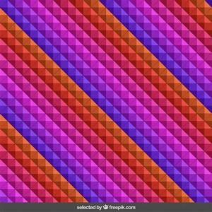 3d cube pattern Vector | Free Download