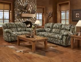 mossy oak camouflage reclining motion sofa loveseat camo living room set ebay
