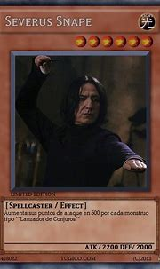 Severus Snape | Wiki Yu-Gi-Oh!FanFiction | FANDOM powered ...