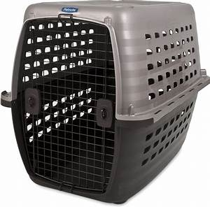 petmate navigator plastic kennel x large chewycom With petmate large dog kennel