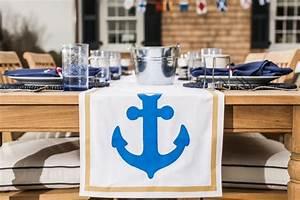 Tischläufer Für Draußen : 80 sommerliche maritime deko ideen f r drinnen und drau en ~ A.2002-acura-tl-radio.info Haus und Dekorationen