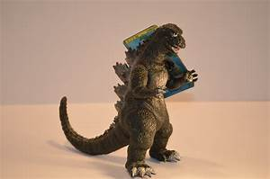 Bandai Japan Rare 1984 Godzilla Mint with Tag | Clawmark Toys
