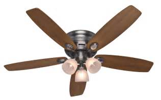 hunter 52 quot low profile iv plus ceiling fan 23903 in