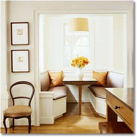 homeofficedecoration banquette seating
