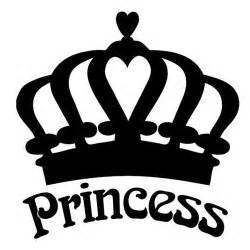 Princess Crown Car Decal
