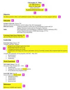 professional resume after college college graduates don t make these common resume mistakes